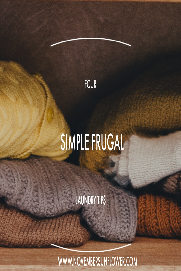 4 simple frugal laundry tips