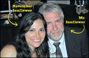 November Sunflower with Mr. Sunflower #NovemberSunflower