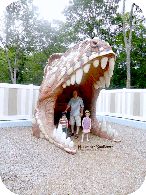 family fun mystic #travel #dinosaurplace #sponsored