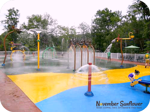 Family Fun Mystic Splashpad at The Dino Place