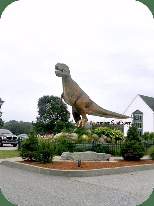family fun mystic #thedinosaurplace #travel