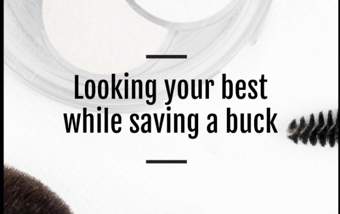 how to look your best for less money