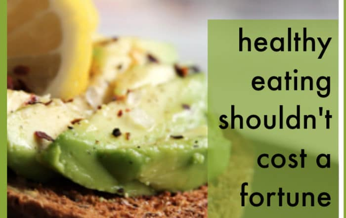 healthy eating shouldn't have to cost fortune
