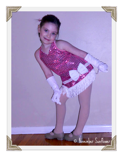 Little Miss ready to dance