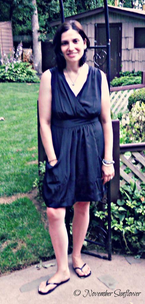 eshakti - Little Black Dress with Pockets