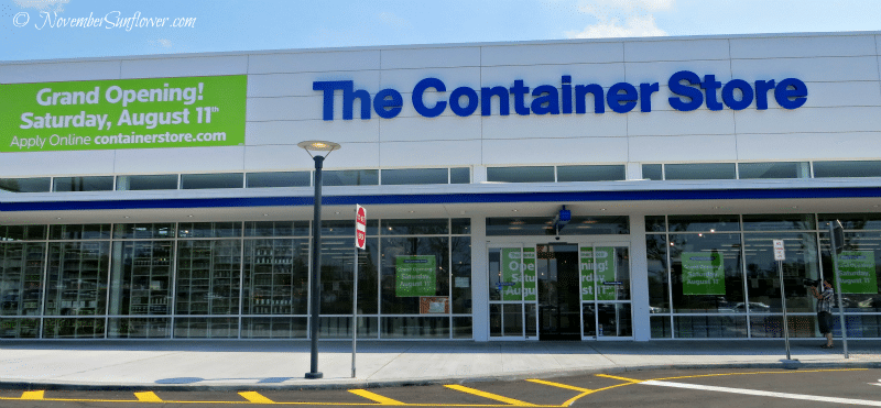 Organizing oasis The Container Store