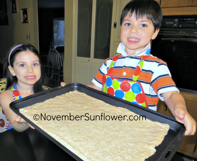 Kids with Pizza Dough