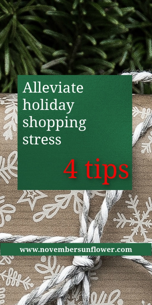 Alleviate holiday shopping stress