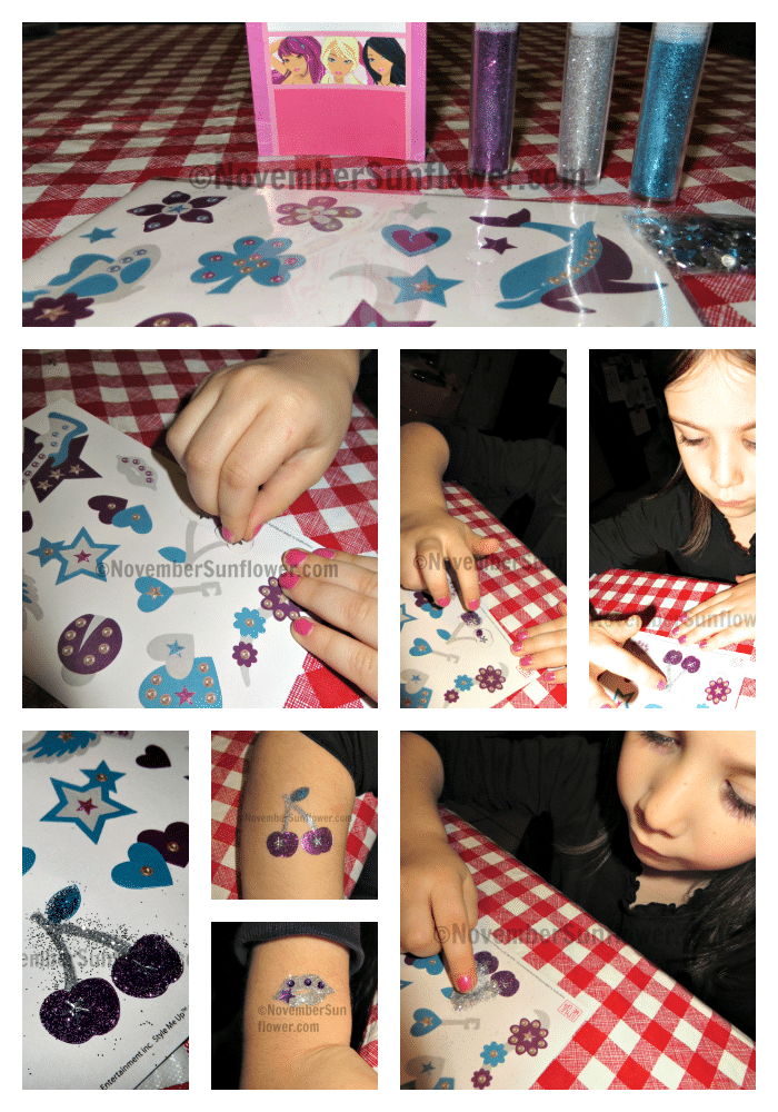 Style Me Up Glitter Powder Tattoos