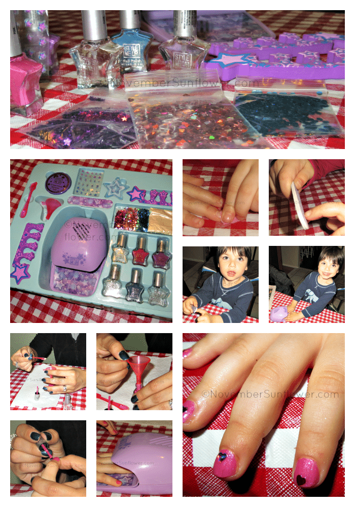 Style Me Up Nail Salon Collage