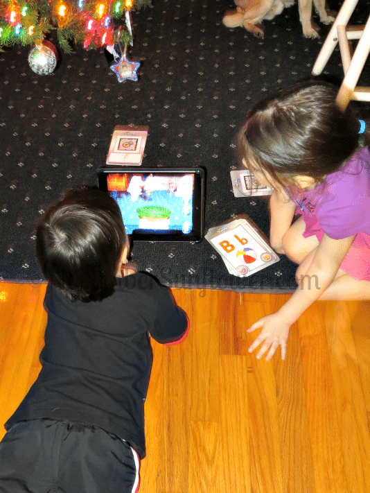 Cypher Kids Playing on Floor