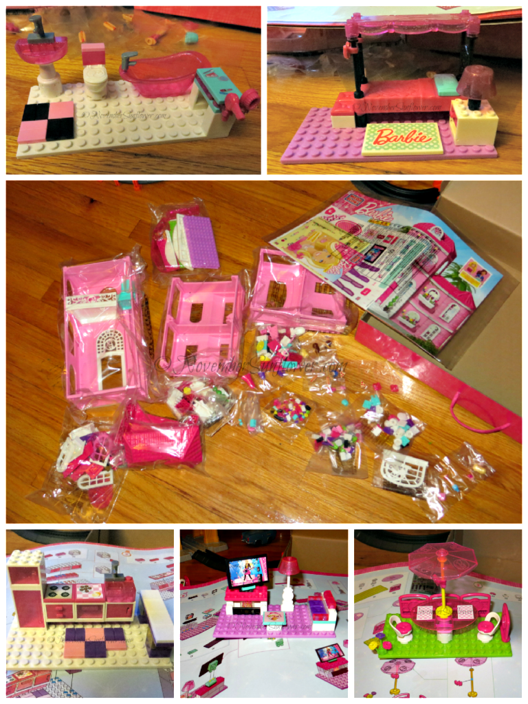 MegaBloks Barbie Mansion