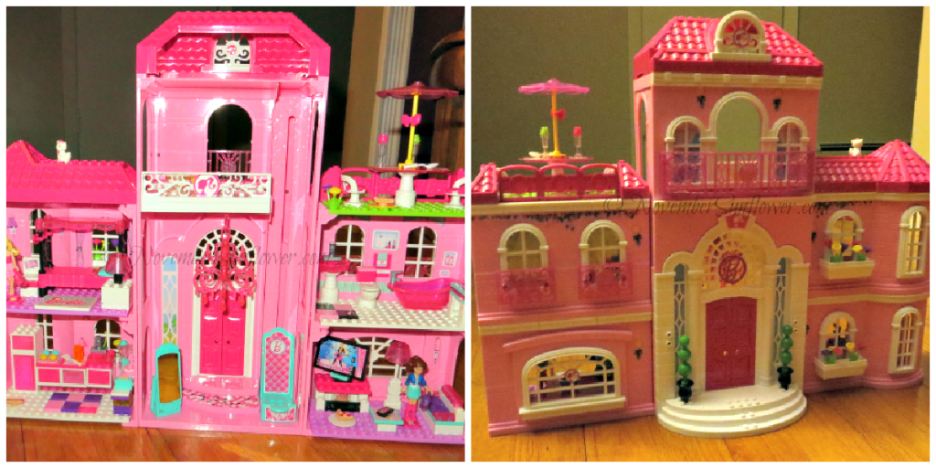 Completed Barbie Mansion