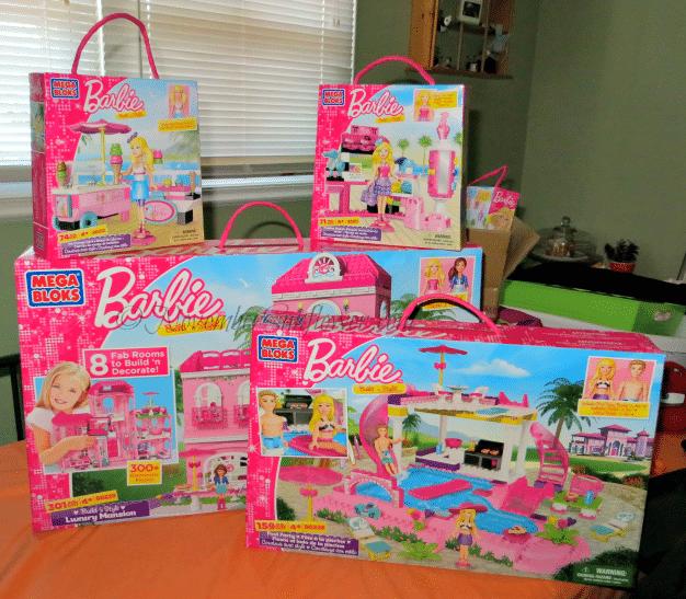 Mega Bloks Barbie Boxes