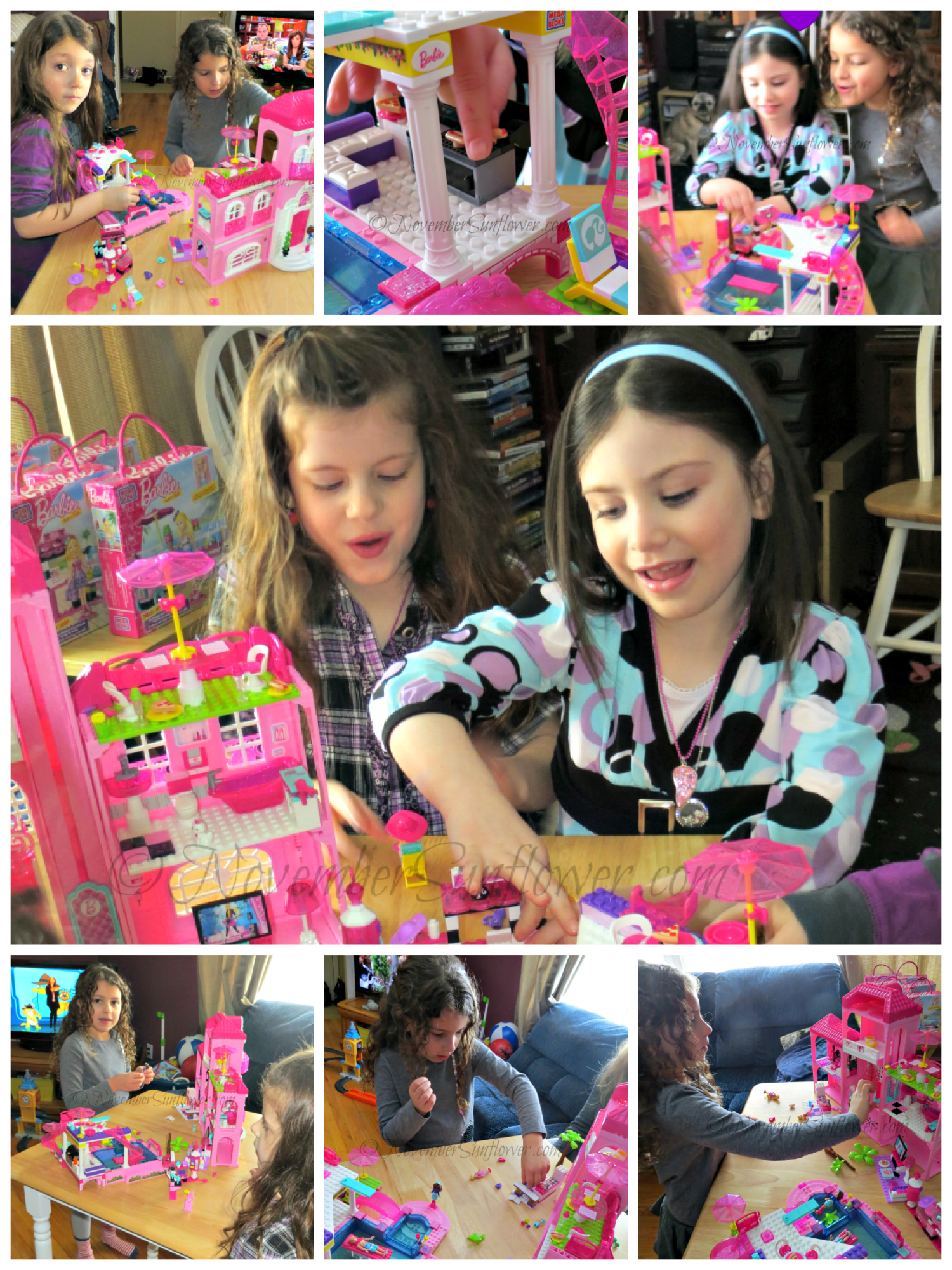 MegaBloks Barbie playtime