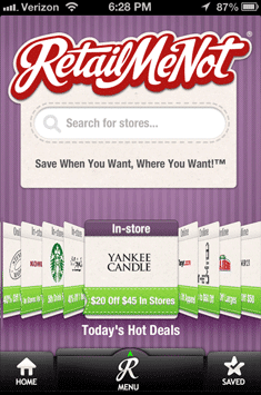 Retail Me Not Mobile