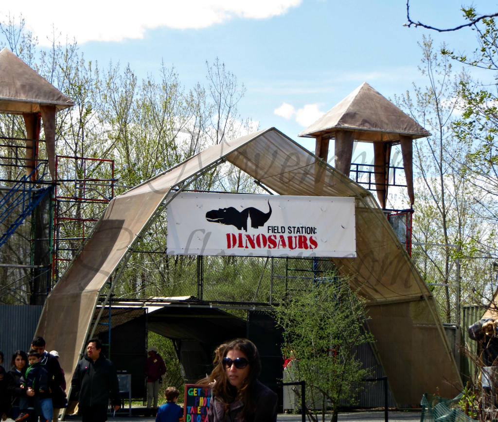 Field Station Dinosaur Entrance