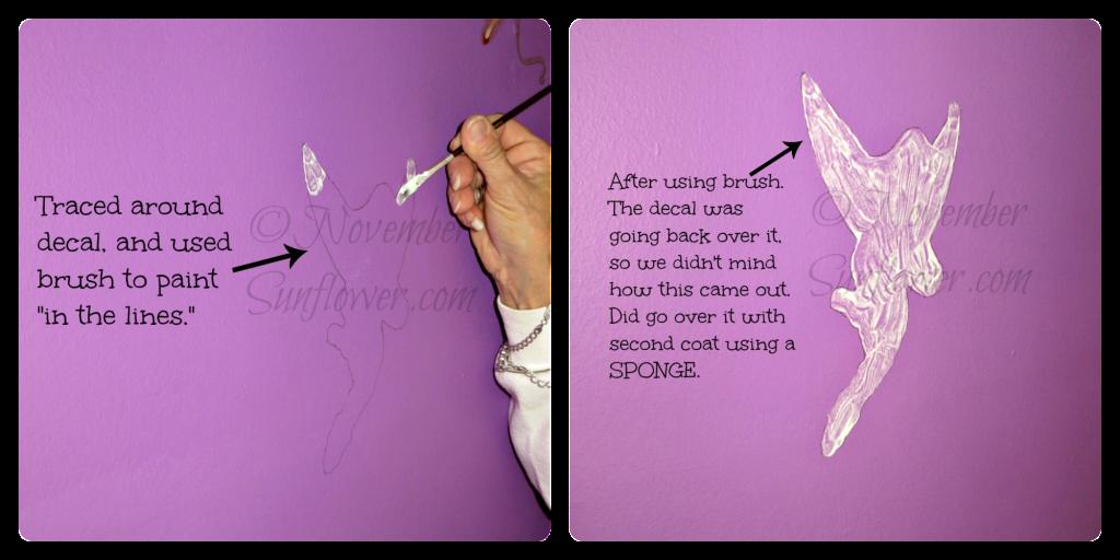 Glidden Painting Tinker Bell