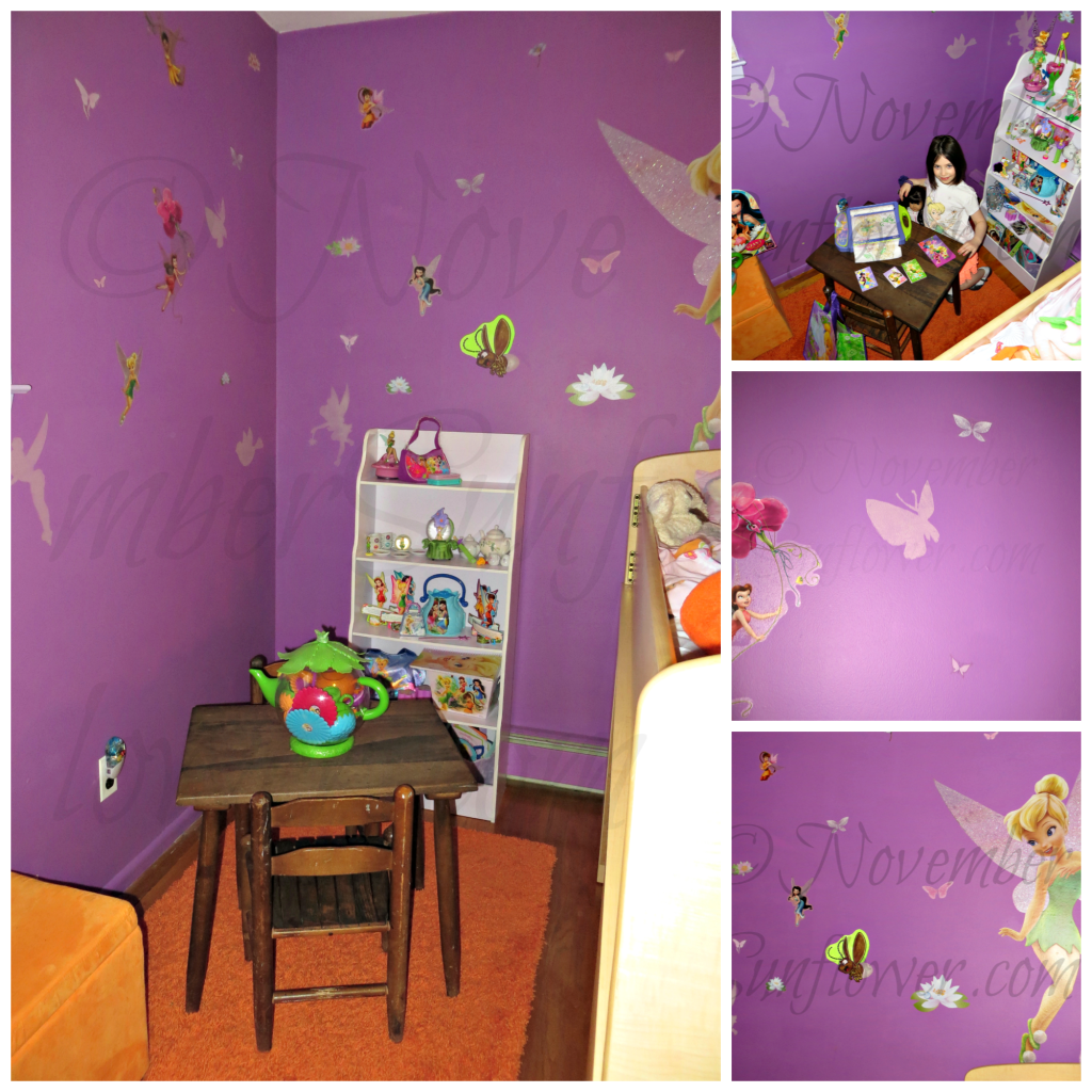 Tinker Bell Nook with Glidden Paint