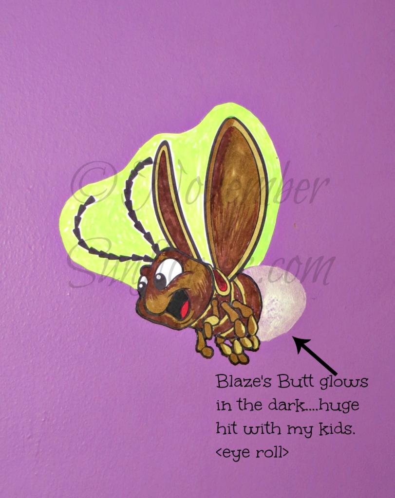 Blaze Butt Glows Tinker Bell