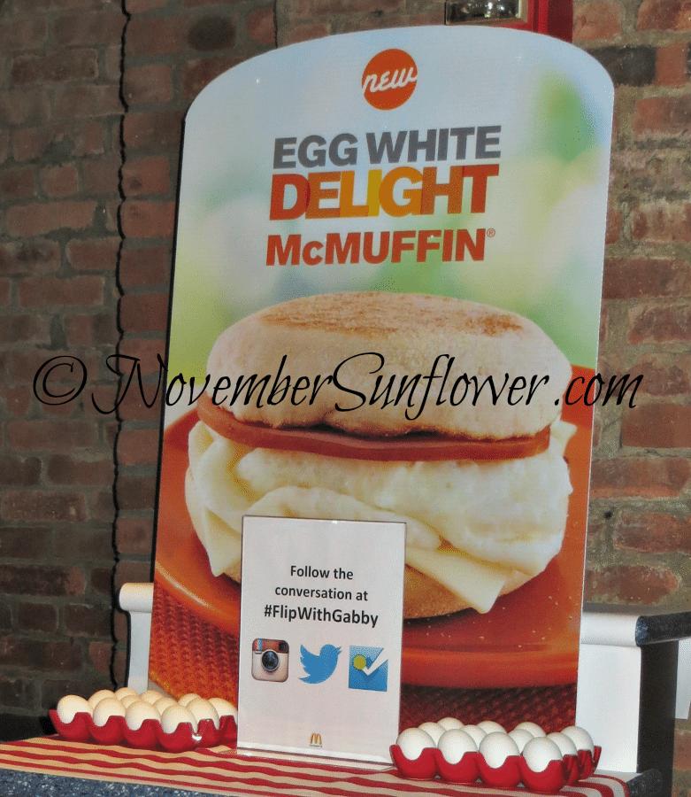 Egg White Delight Signage