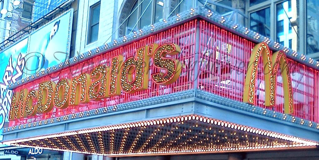 McDonald's on 42nd Street