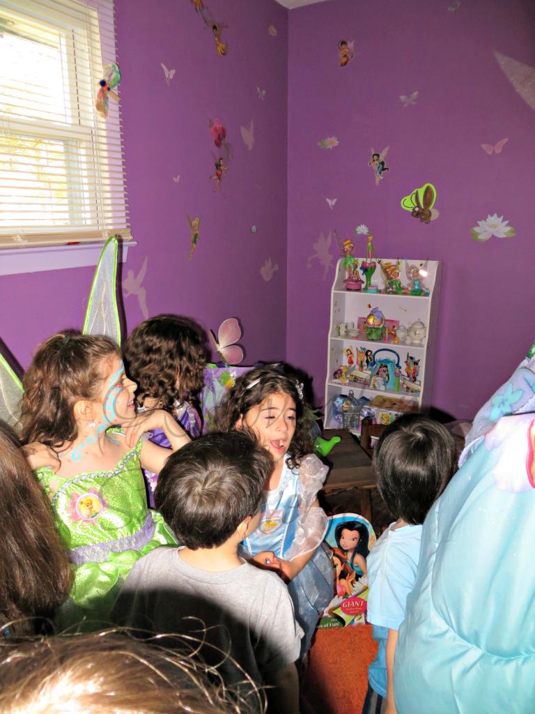 Kids in Tinker Bell Nook