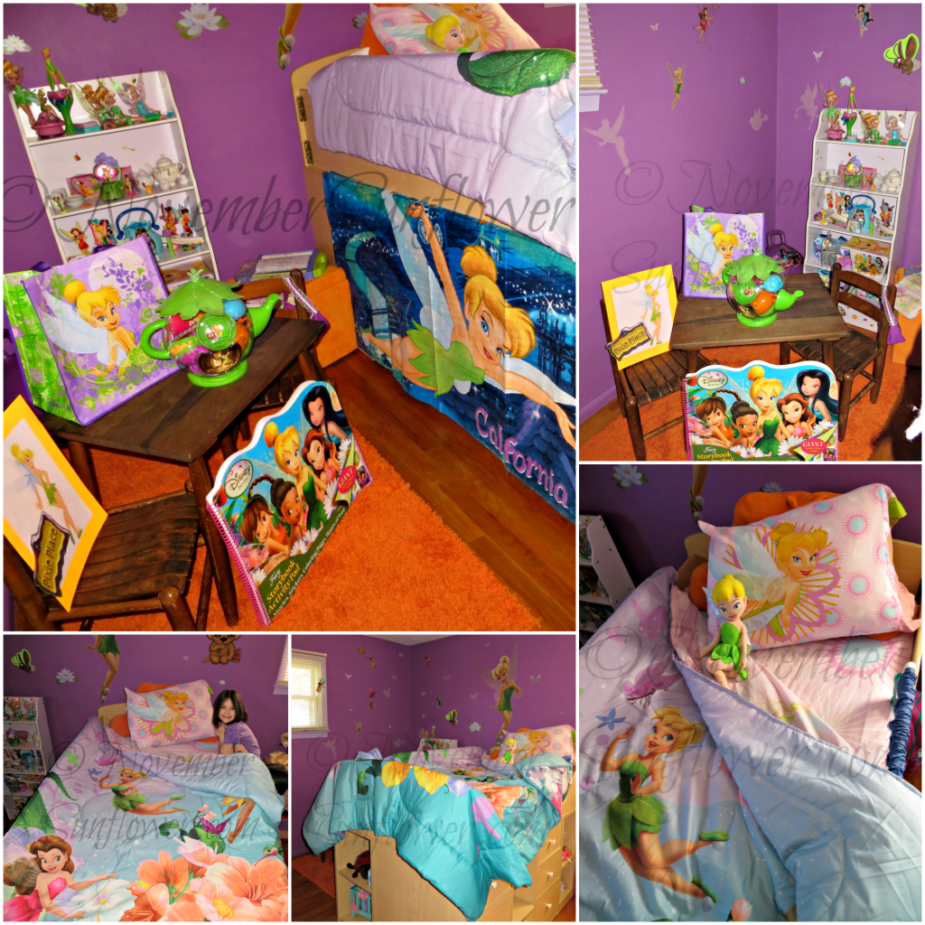 Tinker Bell Sheets and Comforter