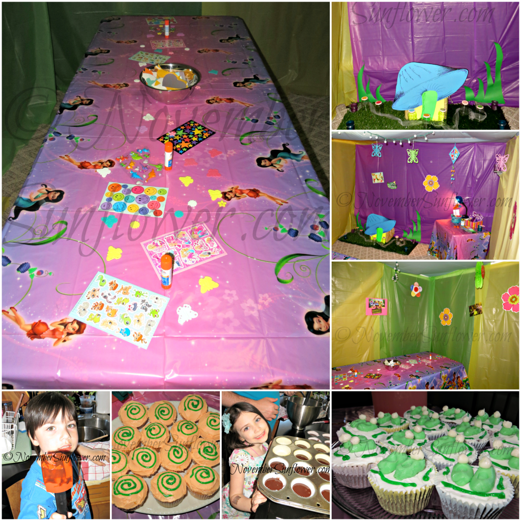 Tinker Bell Party Prep