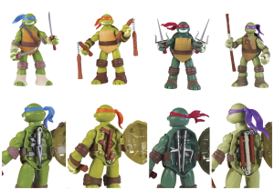 Teenage Mutant Ninja Turtles from Playmates Toys