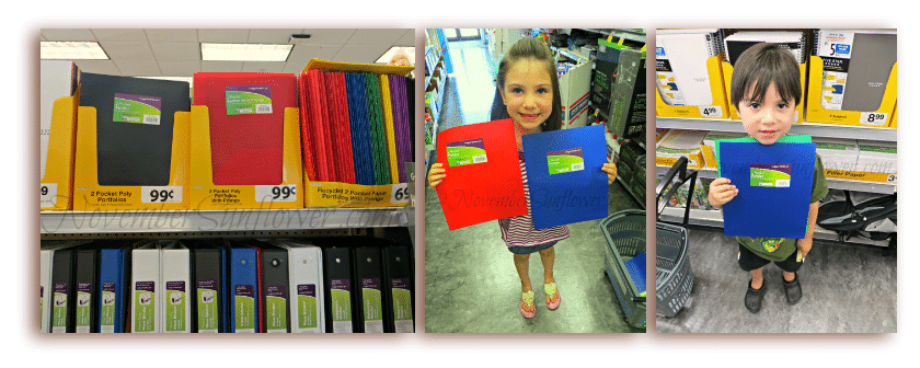 Plastic Folders for back to school