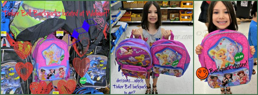 Tinker Bell Backpacks