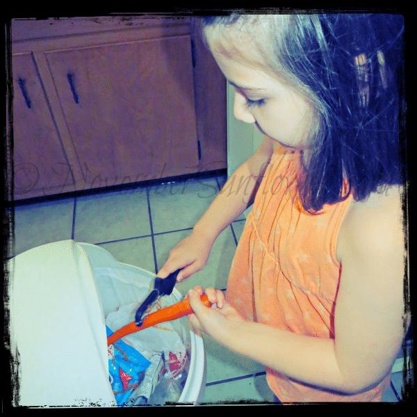 #31daysofphotos - peeling carrots