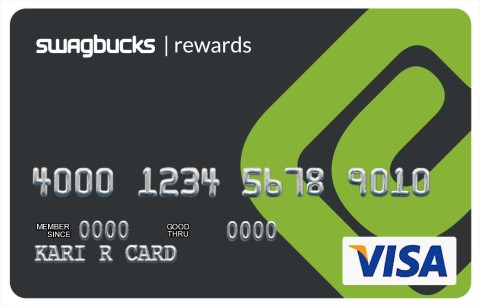 #Swagbucks #Visa Card