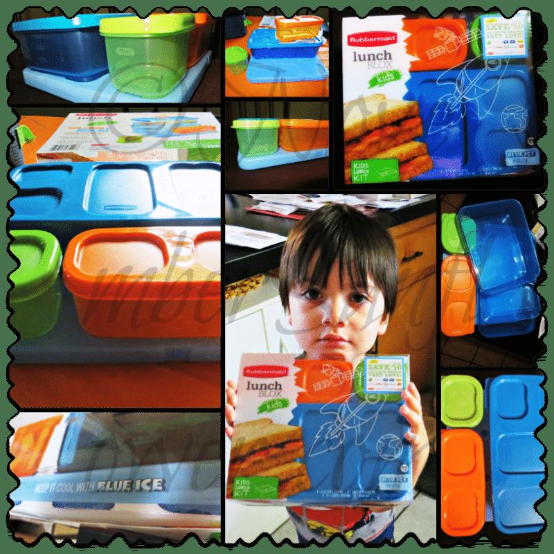 #Rubbermaid #LunchBlox Kids Kit