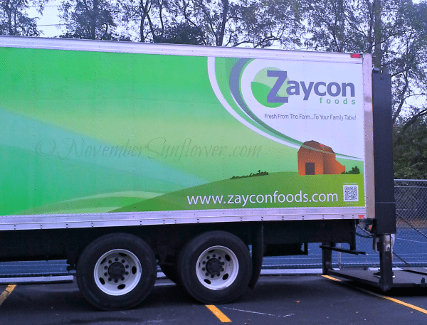 Chicken in a truck with Zaycon Foods
