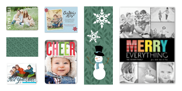 Shutterfly photo cards for the holidays