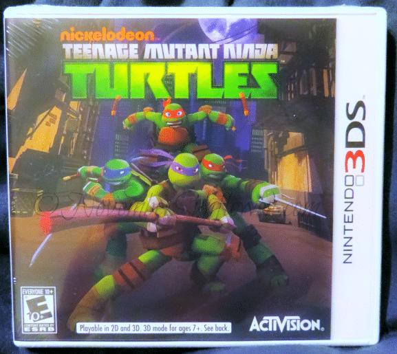 Teenage Mutant Ninja Turtles #tmnt #nintendods #nickelodeon #activision #sponsored