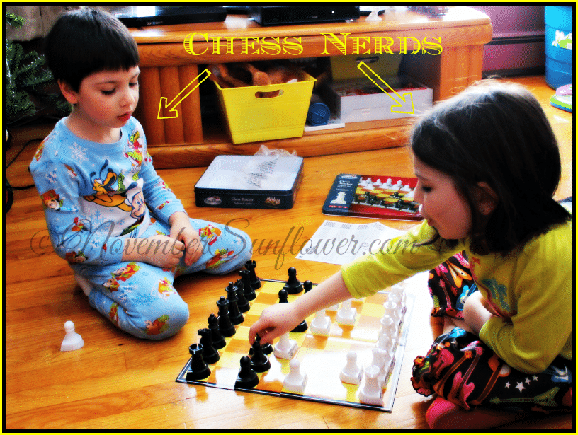 #chess #kidsatplay #snowstorm