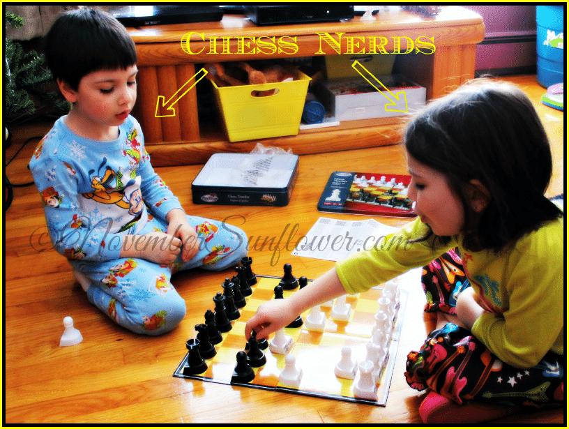 #chess #kidsatplay #snowstorm