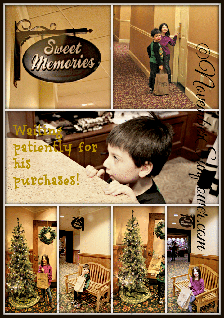 Sweet Memories shopping at Hershey Lodge
