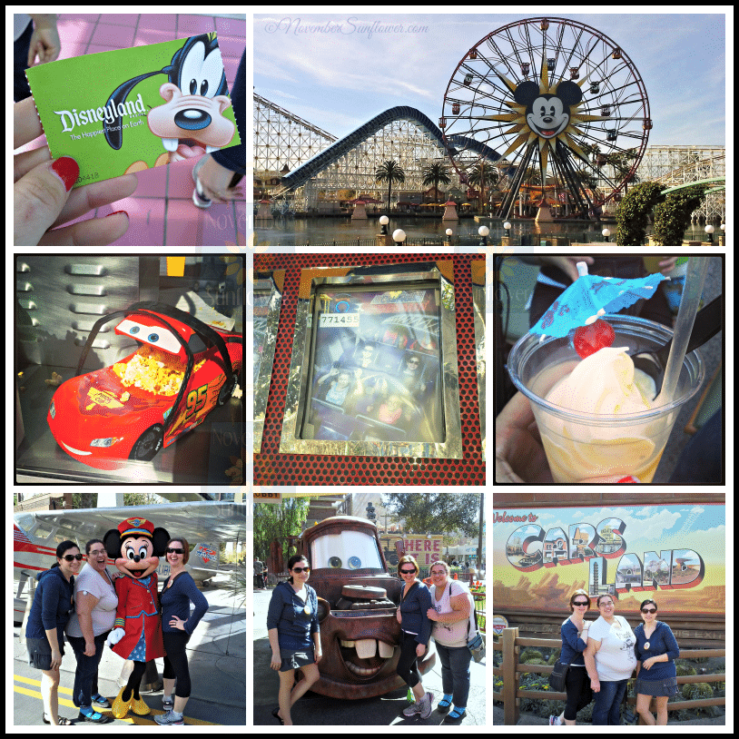 First trip to Disneyland on the West Coast