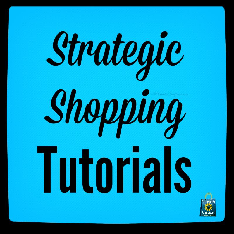 online strategic shopping tutorials