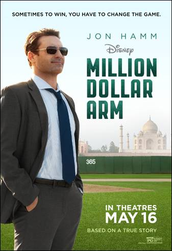 Million Dollar Arm #millliondollararm #jonhamm