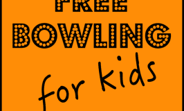 free bowling for kids #freebowling #summer