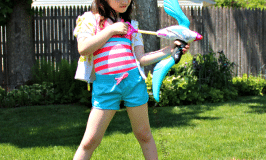 outdoor water fun #nerf #rebelle #summer