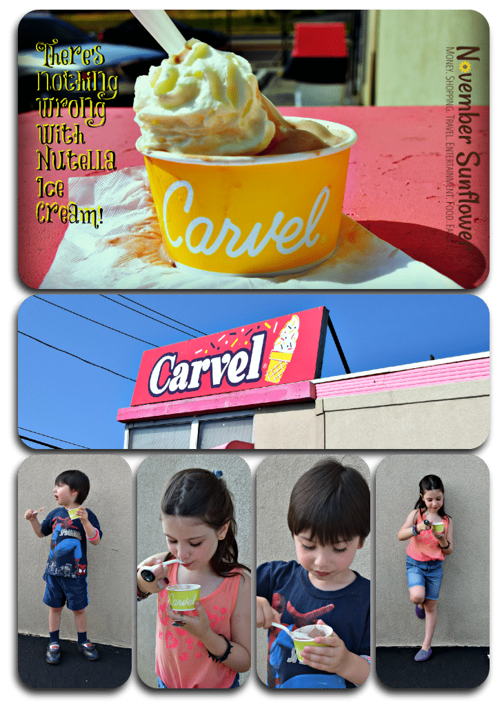 summer has a new flavor #carvel #nutella #sponsored