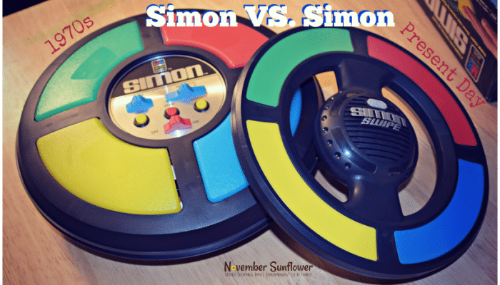 Simon has gone modern