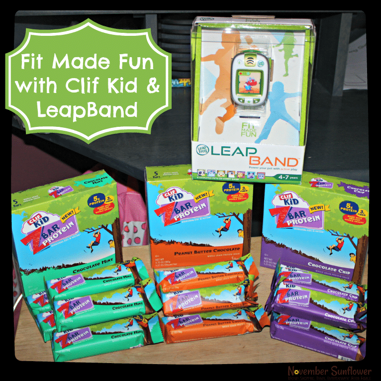 fit made fun #fitmadefun #clifbar #leapfrog #leapband #sponsored