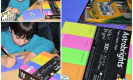 creating cards with astrobrights #sponsored #shopletreviews